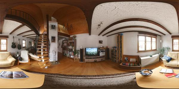 Kugelpanorama Wohnzimmer