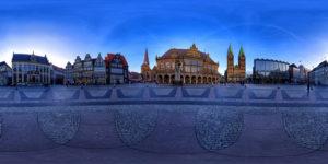Shpärisches Panorama Bremer Marktplatz